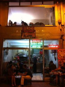 Bilice Kebab Lokal von außen