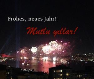Neujahr in Istanbul