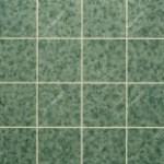 Зеленый дымчатый, плитка 15х15