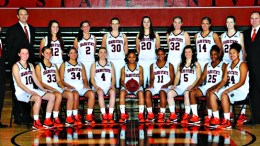 The 2015 ISU women's basketball team.