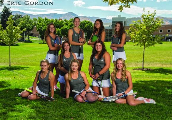 ISU women's tennis team
