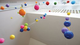 ISU Fine Arts art installation
