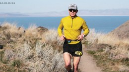 Dr. Shawn Bearden running outdoors