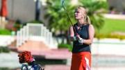 Kylie Martens golfing