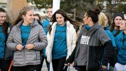 Sexual assault awareness march