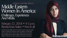 Middle Eastern Women in America poster