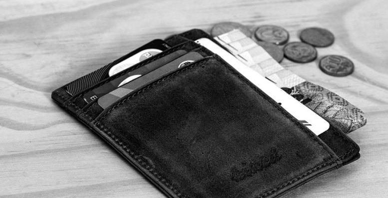Wallet with change