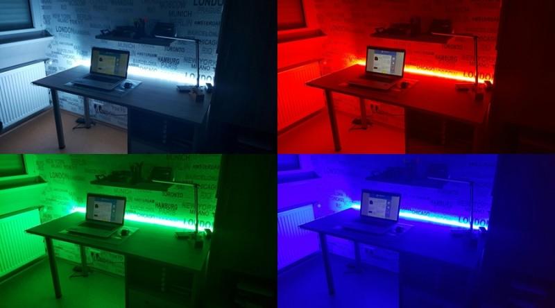 optimale beleuchtung mit der led leiste von inateck it. Black Bedroom Furniture Sets. Home Design Ideas
