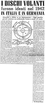 Il Giornale d'Italia 25 marzo 1950