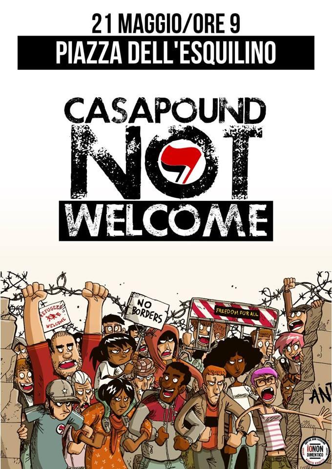 21 maggio a roma e madrid estrema destra in piazza si for Casa maggio