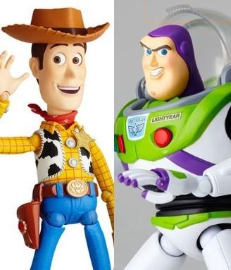 Woody & Buzz Revoltech Tokusatsu - Toy Story - Kaiyodo resale 10