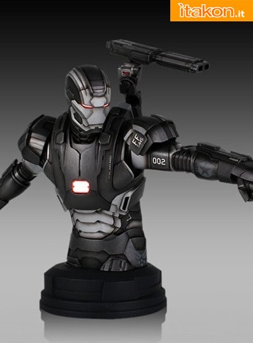 War Machine Mini Bust  (2)
