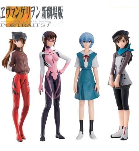 Rebuild of Evangelion PORTRAITS f02 BOX - Bandai preordine 20