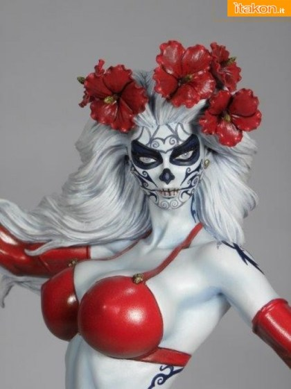 Lady Death La Muerta Statue di CS Moore Studio (1)