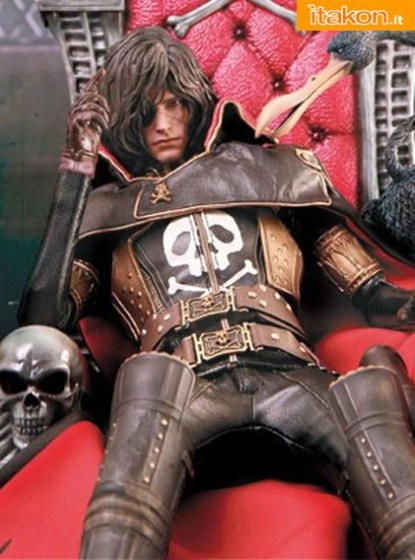 Captain Harlock MMS222 Space Pirate Captain Harlock