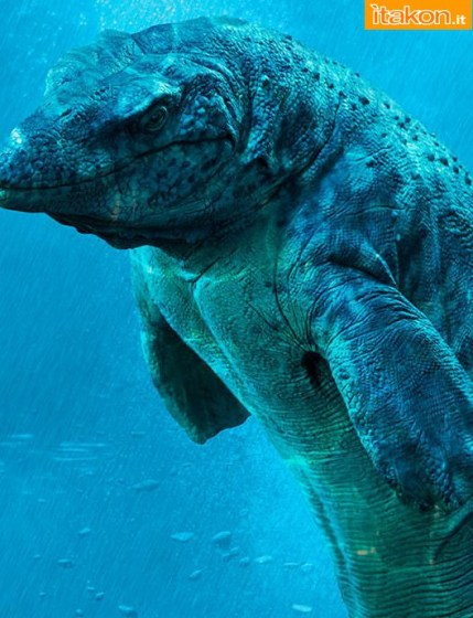 Dinosauria: Mosasaur Statue di Sideshow