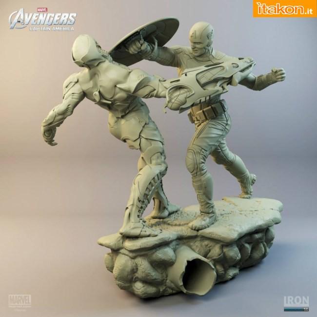 [Iron Studios] Diorama The Avengers: Captain America Statue 1/6 scale C52