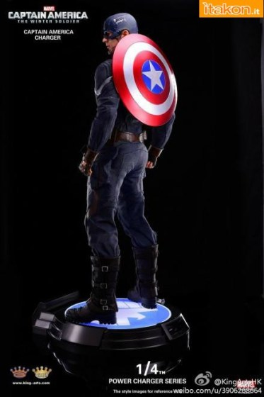 King Arts: Captain America The Winter Soldier 1/4 Power Charger Series - Nuovo Teaser