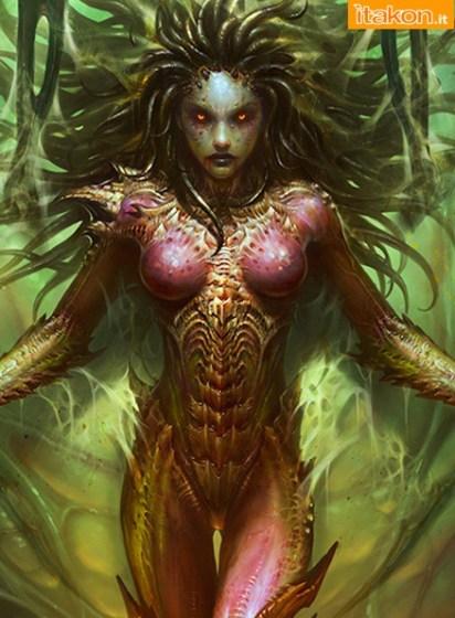 Sideshow: Kerrigan Statue da StarCraft II - Coming Soon