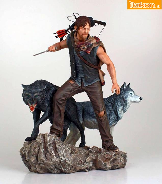 [Gentle Giant] TWD: Daryl and the Wolves Exclusive statue 10525990_1448195465442385_3680669749987840888_n
