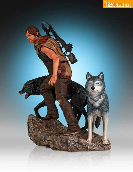 [Gentle Giant] TWD: Daryl and the Wolves Exclusive statue A10