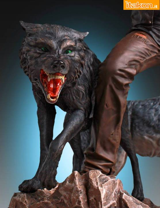 [Gentle Giant] TWD: Daryl and the Wolves Exclusive statue A318