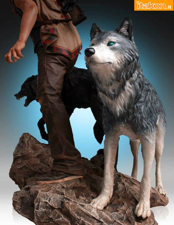 [Gentle Giant] TWD: Daryl and the Wolves Exclusive statue A416