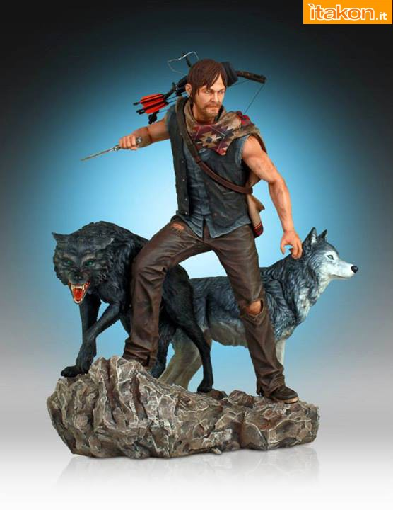 [Gentle Giant] TWD: Daryl and the Wolves Exclusive statue A75