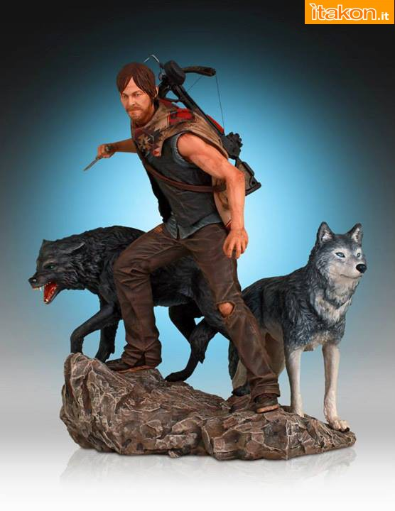 [Gentle Giant] TWD: Daryl and the Wolves Exclusive statue A91
