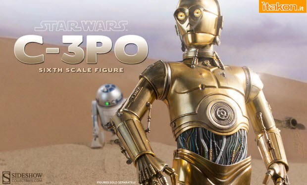 [Sideshow] Star Wars: C-3PO Sixth Scale Figure 10697224_849550985085522_1631098388365721421_o