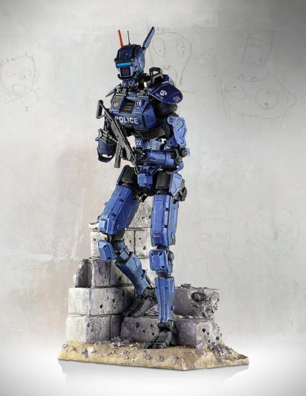[Gentle Giant] Chappie: Scout 22 Statue - 1/4 scale 11041726_10152791704822695_3090051435541895209_n