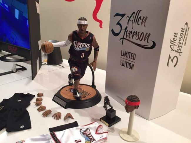 [Enterbay] NBA Legend Series: Allen Iverson (Sixers) | 1/6 scale C9