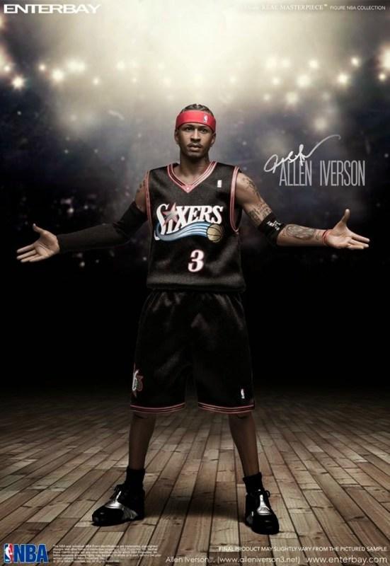 [Enterbay] NBA Legend Series: Allen Iverson (Sixers) | 1/6 scale V86-1