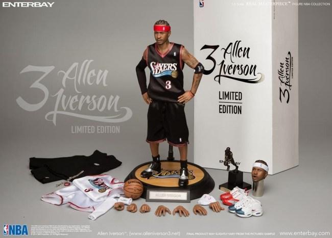 [Enterbay] NBA Legend Series: Allen Iverson (Sixers) | 1/6 scale V86-7