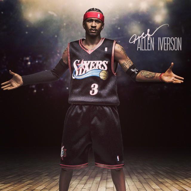 [Enterbay] NBA Legend Series: Allen Iverson (Sixers) | 1/6 scale V86
