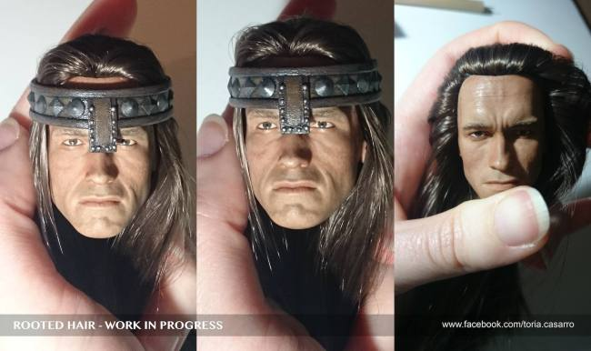 [Modern Life] VH03-XXL: Fantasy Warrior/Conan - 1/6th scale head Toria