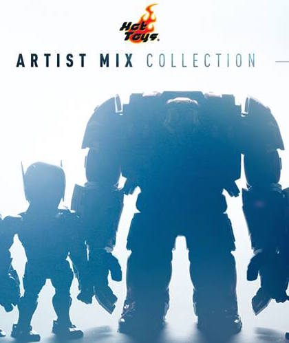 Hot-Toys-Announces-New-Artist-Mix-Collection