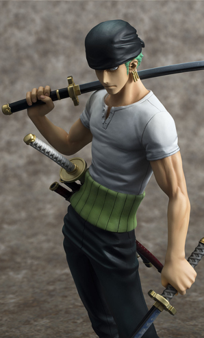 [Megahouse] Portrait of Pirates DX | One Piece - Roronoa Zoro (10th Limited Ver.) - Página 2 Roronoa-zoro-10th-limited-megahouse-foto-uff-1