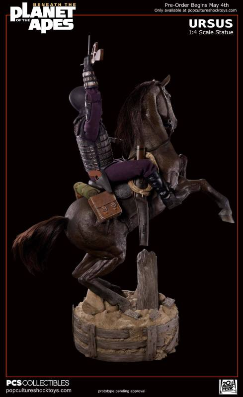[Pop Culture Shock] Beneath the Planet of the Apes: General Ursus on Steed 1/4 619