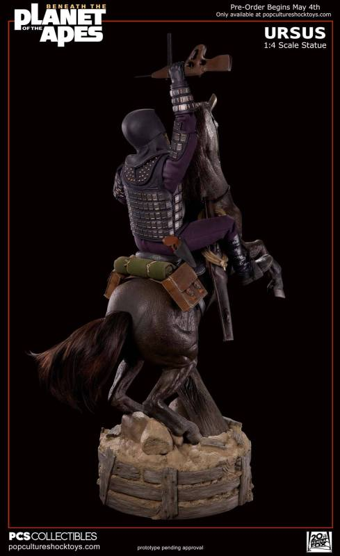 [Pop Culture Shock] Beneath the Planet of the Apes: General Ursus on Steed 1/4 719