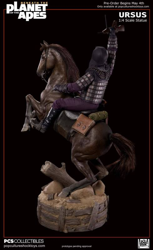 [Pop Culture Shock] Beneath the Planet of the Apes: General Ursus on Steed 1/4 913