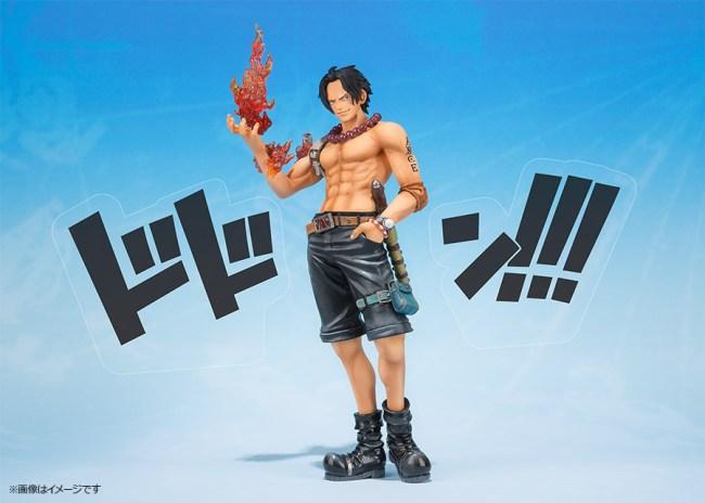 [Bandai] Figuarts ZERO | One Piece - Portgas D. Ace (5th Anniversary ver.) Ace-one-piece-figuarts-zero-bandai-5-ann-ante-7