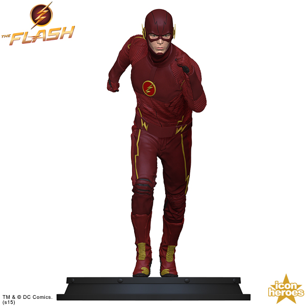 Icon Heroes: The Flash TV Series Statue Paperweight  The-Flash-TV-Series-Statue-Paperweight-001