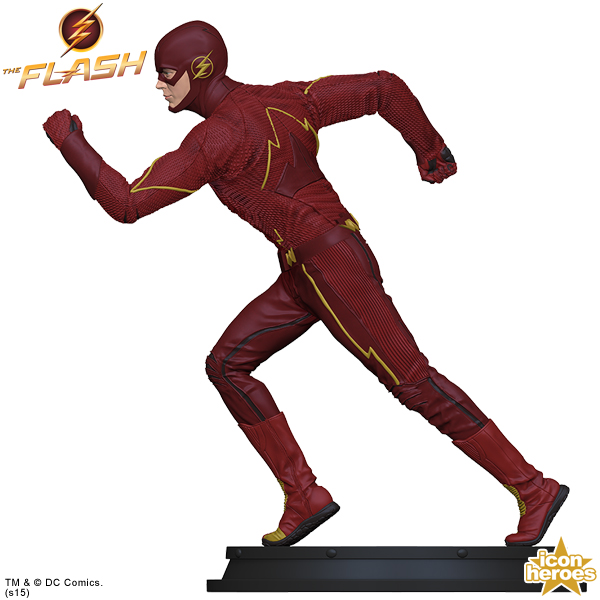 Icon Heroes: The Flash TV Series Statue Paperweight  The-Flash-TV-Series-Statue-Paperweight-004