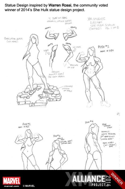 Premium Collectibles : She Hulk - Page 2 XM-Studios-She-Hulk-10