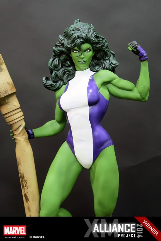 Premium Collectibles : She Hulk - Page 2 XM-Studios-She-Hulk-5