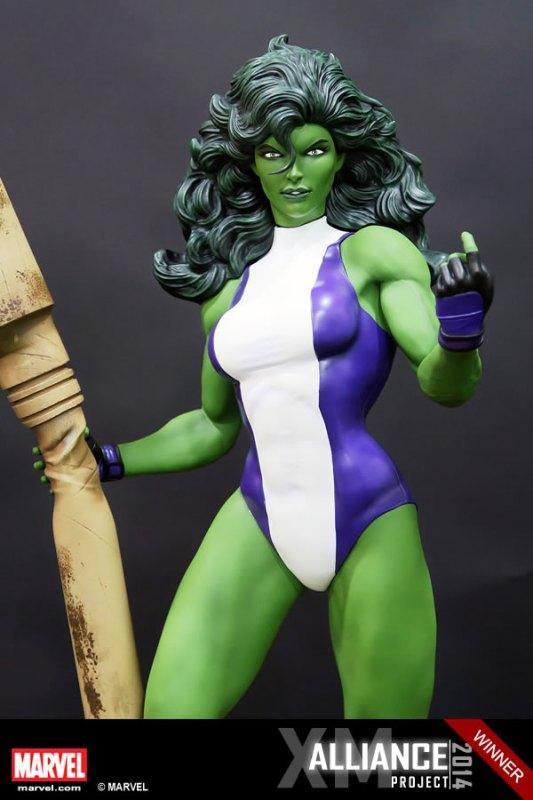 Premium Collectibles : She Hulk - Page 2 XM-Studios-She-Hulk-6