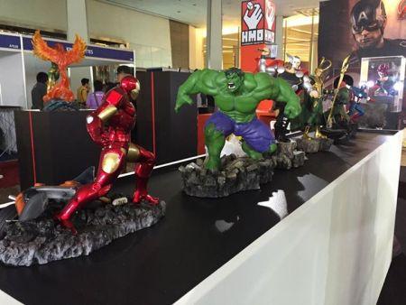 Thailand Comic Convention 2015: Stand XM Studios/HMO