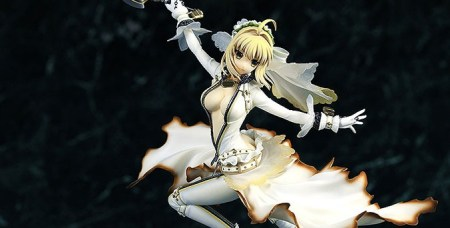 saber bride - fate extra - wings company - 1