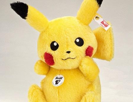Steiff Pikachu - Pokemon - GSC preorder 20